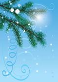 Happy new year tree — Stock Vector