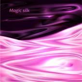 Beautiful Magic Silk Background — Stock Vector