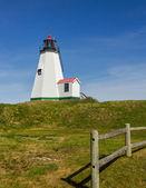 Plymouth Lighthouse in Massachusetts — Stock Photo