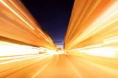 Berlin - Night Drive — Stock Photo