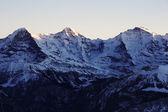 Swiss Alps, Bernese Oberland, Top of Europe, Switzerland — Stock Photo