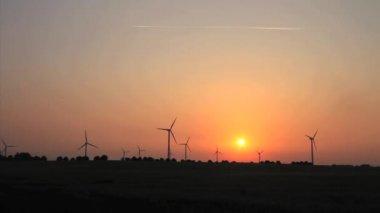 Wind Energy, Wind Power, Wind Turbine — Stock Video