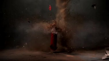 Firecracker - Slow Motion — Stock Video