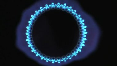 Gas Flame — Stock Video