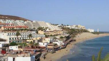 Tourism fuerteventura — Stock Video