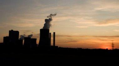 Coal Power Plant — Stock Video