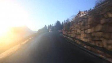 Driving Shot - Switzerland — Stock Video