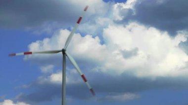 Wind Energy, Wind Power, Wind Turbine — Stok video