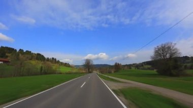 Driving Shot - Road - Germany — Wideo stockowe