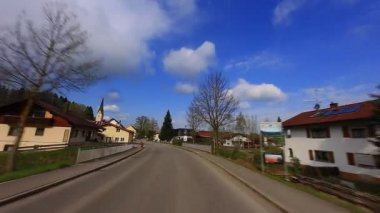 Driving Shot - Road - Germany — Stockvideo