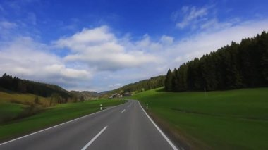 Driving Shot - Road - Germany — Video Stock