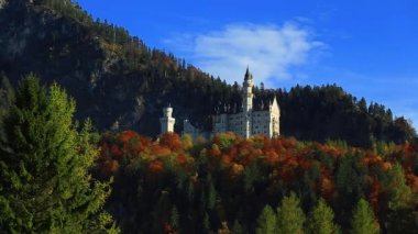 New Swanstone Castle, Neuschwanstein Castle, Bavaria, Germany — Stock Video