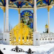 Pochaev lavra.  Flying to god. — Stock Photo #69560801