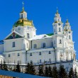 Pochaev lavra. Dormition Cathedral in winter. — Stock Photo #69560829