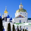 Pochaev lavra. Dormition Cathedral, domes. — Stock Photo #69560871
