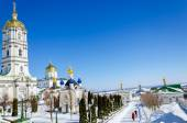 Pochaev lavra, bell tower. — Stock Photo