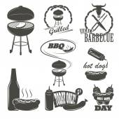 bbq sauce label template - set of vintage barbecue sauce labels stock vector ivan