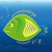 Fish — Stock Vector