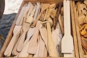Handcrafted Kitchen Utensils — Stock Photo