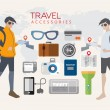Character Design About Tourism And an icon that 's important to — Stock Vector #64069335