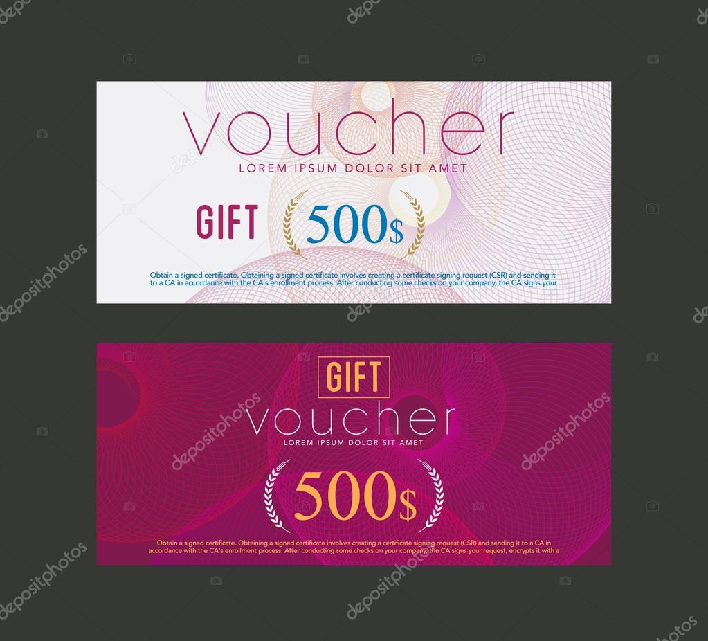 Valentine Gift Certificate Template Free