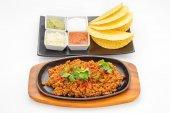 International food restaurant dish studio shot — Stock Photo