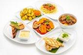 Dish of international cousine — Stock Photo