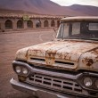 Постер, плакат: Rusty old broken pickup truck