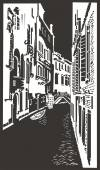 Street in Venice — Stock Vector