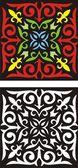 Kazakh ornament — Stock Vector