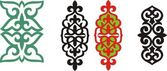 Kazakh ornament 5 — ストックベクタ