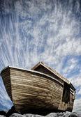 Boat on noah — Stock Photo