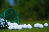 Pelotas de golf — Foto de Stock