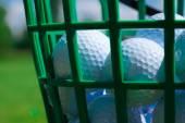 Golfové míčky — Stock fotografie