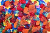Abstract art background of colorful paint — Stockfoto