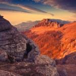 Vintage  Crimea mountains — Stock Photo #64051659