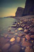 Beautiful sea sunset — Stock Photo