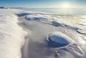 Winter Frozen sea — Foto de Stock