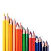 Colour pencils  close up — Stock Photo