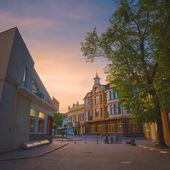 Old european streets — Stock Photo