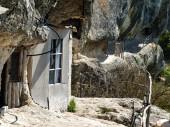 Jeskynní klášter — Stock fotografie