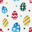 Watercolor pattern with eggs — Stock Vector #68472845