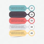 Set of infographics elements — Stock Vector