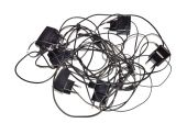 Charging cables — Stock Photo