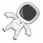 Astronaut in zero gravity — Wektor stockowy