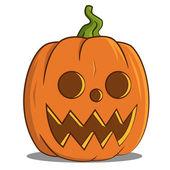 Jack pumpkin head. — Stock Vector