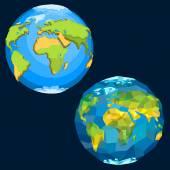 Planet Earth. — Stock Vector