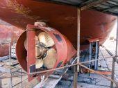 Propeller tug — Stock Photo