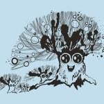 Illustration of fancy tree. — Stock Vector #67783217