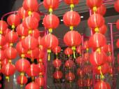 Chinese New Year lanterns — Stock Photo